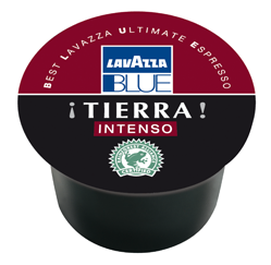 Lavazza BLUE TIERRA Intenso, 100% Arabica RFA