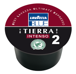 Lavazza BLUE TIERRA Intenso 2, 100% Arabica RFA