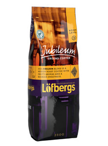 LOFBERGS JUBILEUM GROUND COFFEE 250G, MIELONA