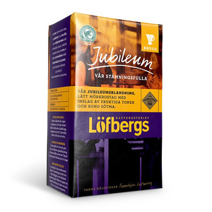 LOFBERGS JUBILEUM GROUND COFFEE 500G, MIELONA
