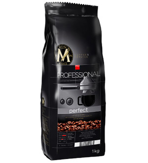 MELNA PROFESSIONAL PERFECT COFFEE BEANS 1KG, ZIARNISTA