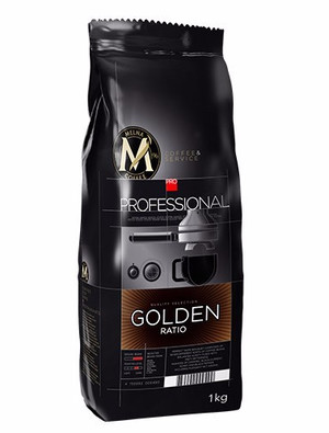 MELNA PROFESSIONAL GOLDEN RATIO COFFEE BEANS 1KG, ZIARNISTA