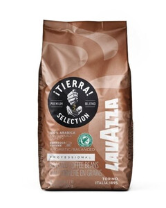 LAVAZZA TIERRA SELECTION 100% Arabica RFA, 1KG, ZIARNISTA