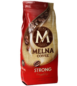 MELNA STRONG GROUND COFFEE 250G, MIELONA